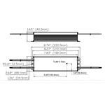T1M1UNV500P-185L dimensions