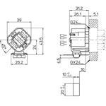 LH1107 dimensions