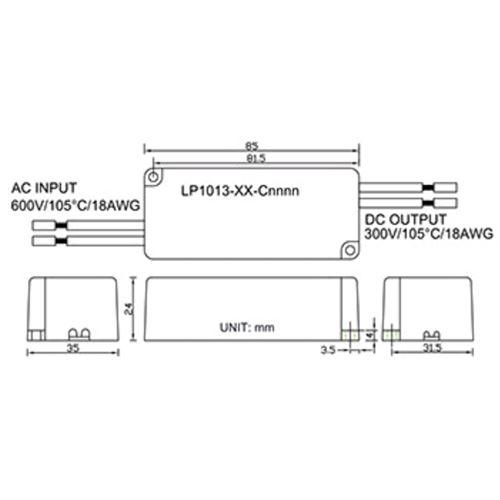 Magtech LP1013-36-C0350 - 350ma constant current-2