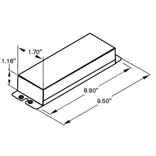 LV100-24V-UNV-I dimensions