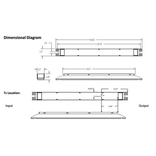 D15CC55UNVTW-C dimensions