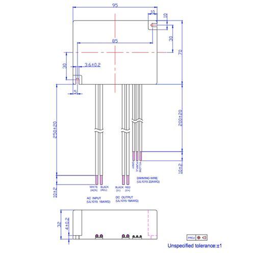 EUC-042S175DS dimensions