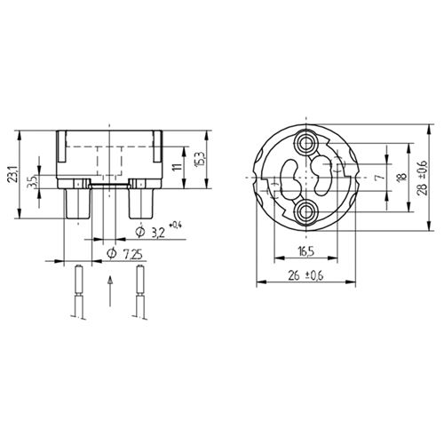 LH1103 dimensions