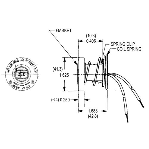 LH0134 Dimensional Drawing