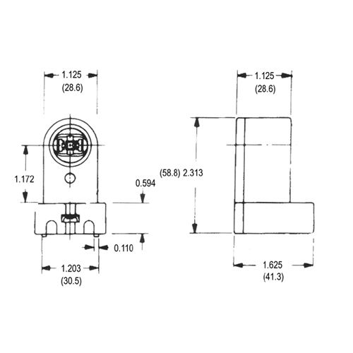 LH0140 Dimensional Drawing