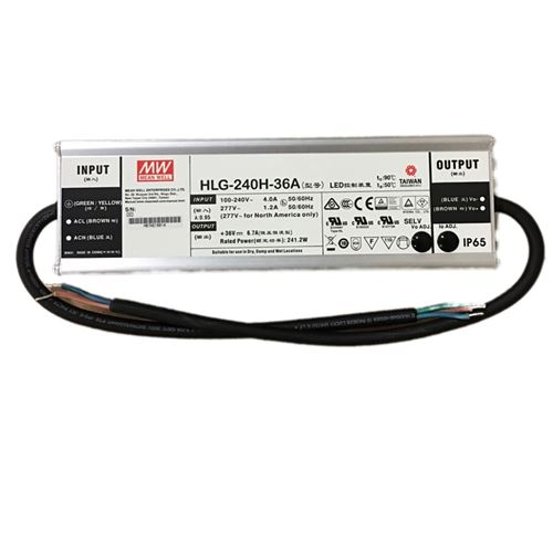 Mean Well HLG-240H-36A - 36v constant voltage -2