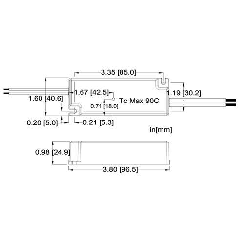 LC20-0700Z-UNV-AA dimensions