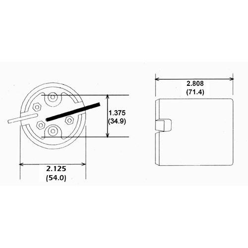 LH0424 Dimensional drawing