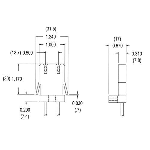 EMF LR89 (LH0104) - Non-shunted - G13 medium bipin