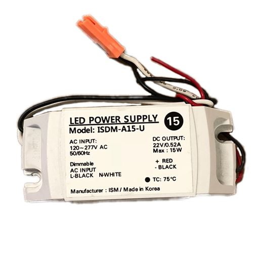 ISM ISDM-A15-U - 15w - 520ma - dimmable - consta-2