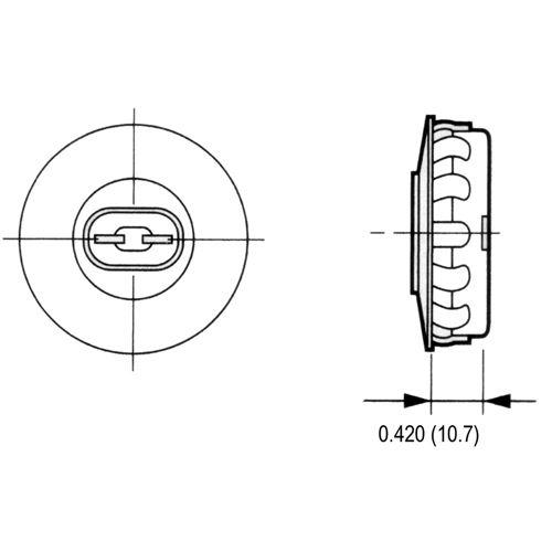 LH0154 Dimensional Drawing
