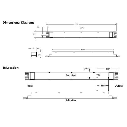 D15CC15UVPWA12-C dimensions