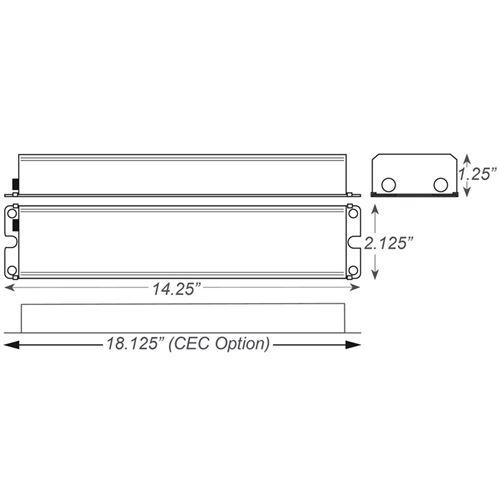 BAL1400LPTD dimensions
