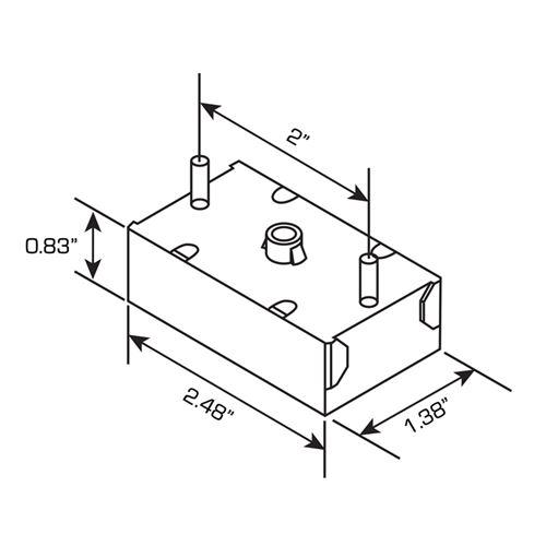RL12-75ABF dimensions