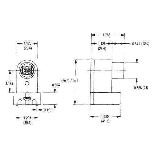 LH0139 Dimensional Drawing