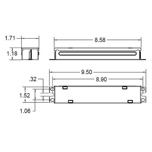 Everline D24VA100UNVA-A dimmable 96 watt, 24Vdc-2