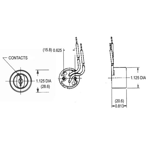 LH0132 Line Drawing