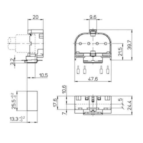 LH1108 dimensions