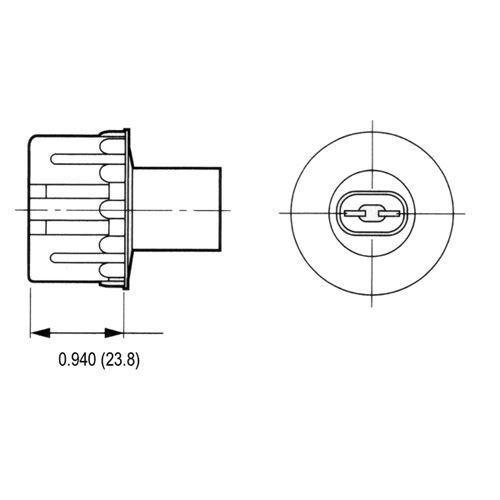LH0153 Dimensional Drawing