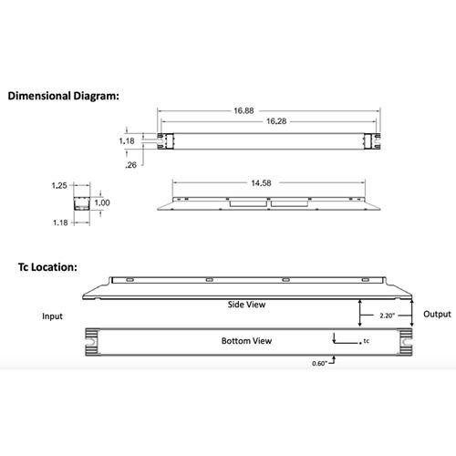 D21CC80UVPWA12-D dimensions