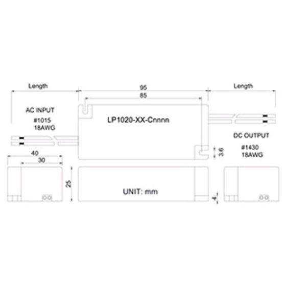 LP1020-22-C0800 dimensions