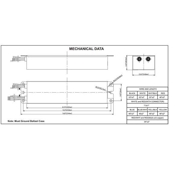 FH7-UNV-500L-CEC dimensions