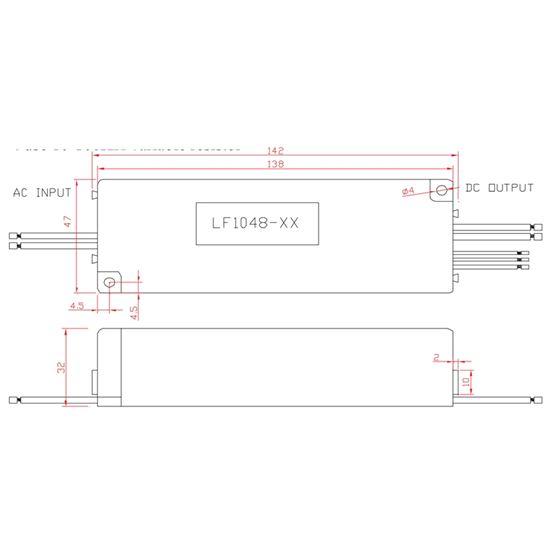 LF1048-160-C0460 dimensions
