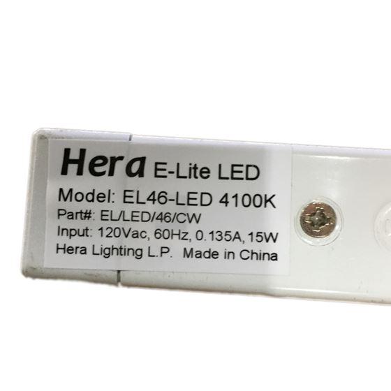Hera EL/LED/46/CW - Four foot - 15 watt - 4100k-4
