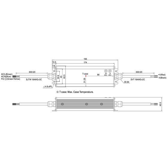 CEN-100-36 dimensions