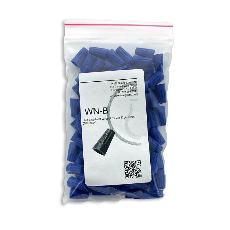 100pk Blue Wirenuts