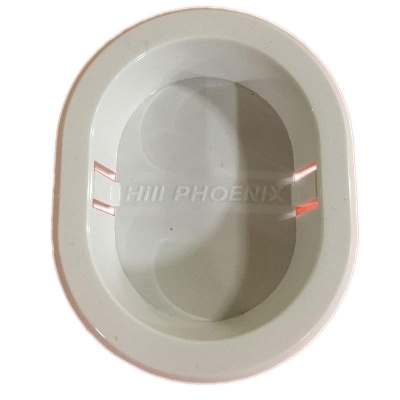 Hill Phoenix P065685CWH - dummy receptale - white