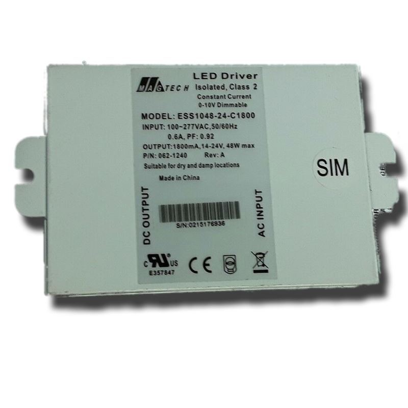 ESS1048-36-C1660 24 - 36Vdc, 1660mA, constant curr