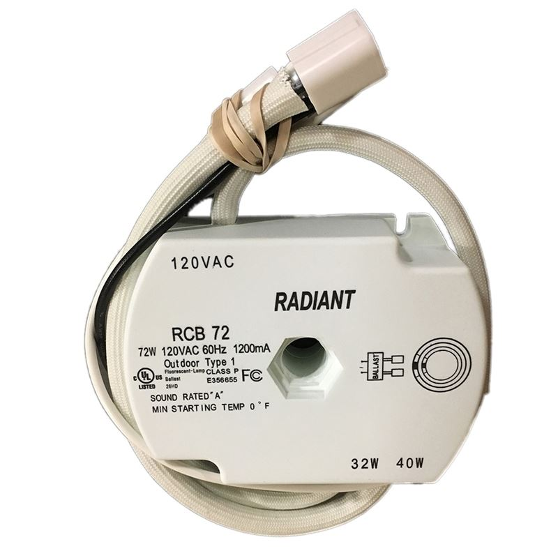 Radiant TLE72 - 32w and 40w circline - sockets att