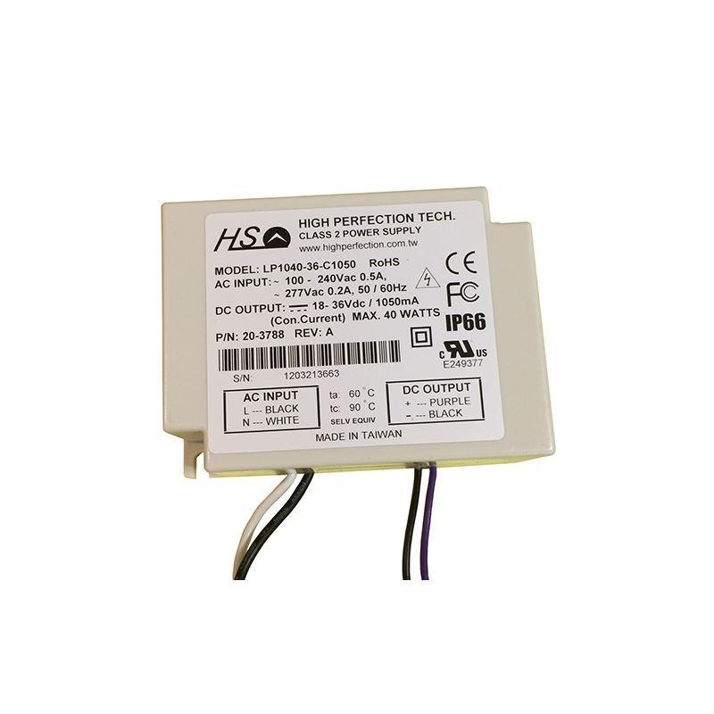 LP1040-36-C0950 LED Driver 950ma con. cur. 40w