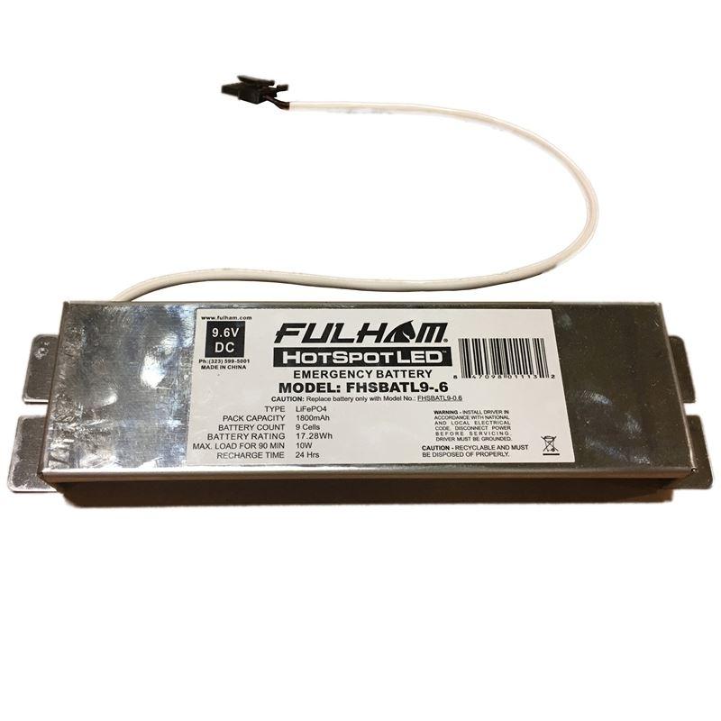 Fulham Hot Spot 2 FHSBATL9-.6 - LED battery pack -